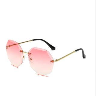 [HCM]Kính thời trang xi ốc mắt tròn không khung cao cấp - kính mát nữ thumbnail