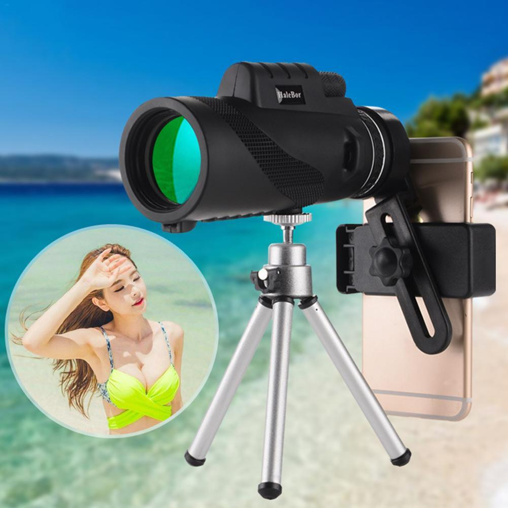 Bảng giá Mini Monocular Telescope 50x60 High Magnification Waterproof Night Vision Telescope for Outdoor Nature Observations Shooting