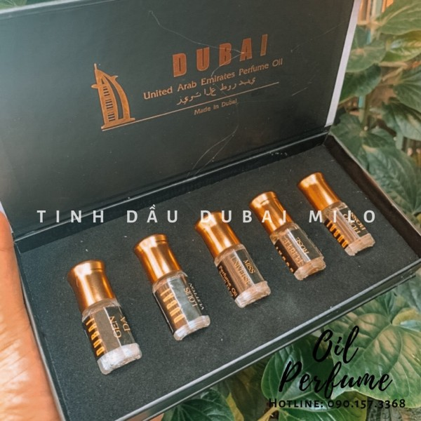 【HOT】☣ Tách Set Tinh dầu nước hoa Dubai dạng lăn mini 10ml / chuẩn Authentic