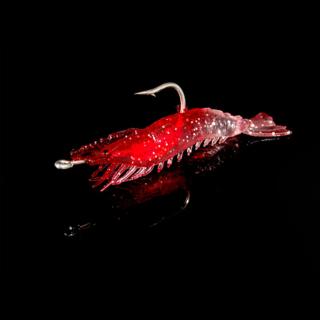 Mồi Giả Tôm Dạ Quang, Mềm Mô Phỏng Tôm Lure Mồi Nhân Tạo Dụng Cụ Câu Cá Biển thumbnail