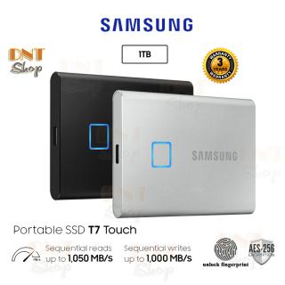 Ổ cứng di động SSD Portable Samsung T7 Touch 1TB - USB 3.2 Gen 2 (MU-PC1T0) thumbnail