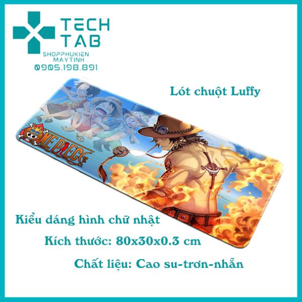 Bảng giá Lót chuột cỡ lớn Hải Tặc Luffy 80x30x0.3 cm họa tiết độc đáo Phong Vũ