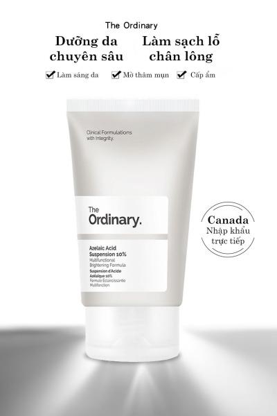 The Ordinary Azelaic Acid Suspension 10% Kem dưỡng trắng da ngừa mụn làm sáng da dưỡng ẩm Whitening Cream Skin Care Moisturizing tốt nhất