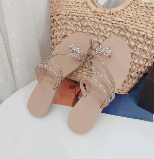 Dép xỏ ngón bệt nơ bướm siêu xinh N01 giá rẻ