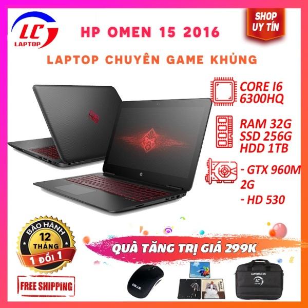 Bảng giá Laptop game hp omen 15 2016, core i5-6300hq, card rời nvidia gtx 960m- 2g, màn 15.6in fullhd ips Phong Vũ