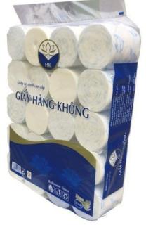combo 20 cuộn giấy vệ sinh cao cấp được làm hoàn toàn từ bột giấy, siêu dai và mềm, là sản phẩm chất lượng thumbnail