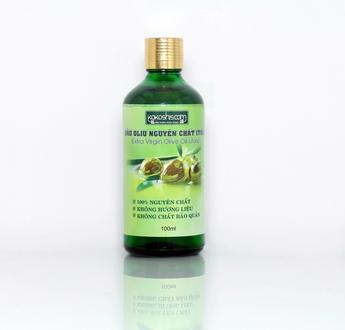Dầu Oliu Nguyên Chất Ép Lạnh Kokoshis Extra Olive Virgin Oil 100ml
