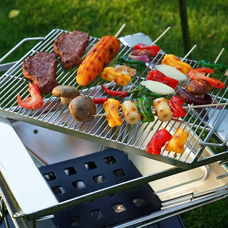 Bếp nướng than hoa ngoài trời - Bếp nướng không khói - Bếp nướng BBQ dã ngoại - Hàng xuất Nhật - Thương hiệu BBQGO - Bảo hành 12 tháng - Cam kết chất lượng - Cỡ lớn - Dành cho nhóm 6-10 người