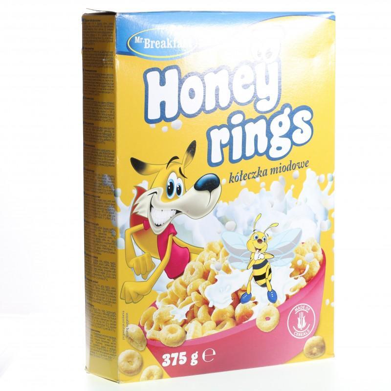 Bánh ngũ cốc Bakalland Honey rings hộp 375g