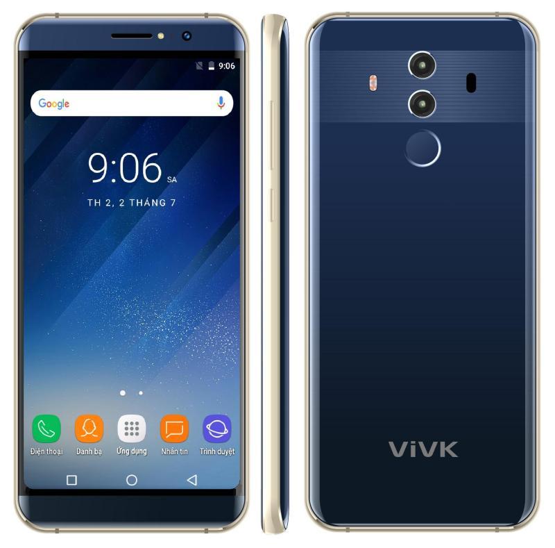 Điện Thoại VIVK X9 Màn Hình Tràn Viền - RAM 1 GB ROM 8GB - Tặng Loa Bluetooth + Ốp Lưng