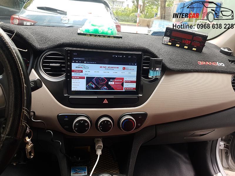 màn Android xe Huyndai i10