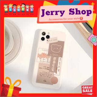 [FREESHIP đơn 50k] Ốp lưng iphone Gấu Best One cạnh vuông 5 5s 6 6plus 6s 6splus 7 7plus 8 8plus x xr xs 11 12 pro max plus promax - JERRY SHOP thumbnail