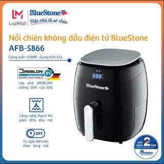 Nồi chiên không dầu BlueStone AFB-5866 (3.5L) - Công nghệ chiên nướng đối lưu Rapid Air - Phù hợp gia đình 3-4 người - CS 1500W - Điều khiển điện tử - Hàng Chính Hãng thumbnail