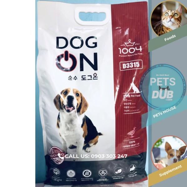 DOG ON THỨC ĂN HOÀN CHỈNH DÀNH CHO CHÓ MỌI ĐỘ TUỔI. BAO 5 KG (PETs dub)