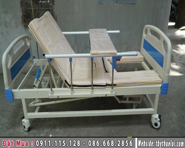Giường Y Tế - Giường Y Tế Đa Năng 4 Tay Quay - Giường Bệnh Viện (Giá 8.000.000đ)