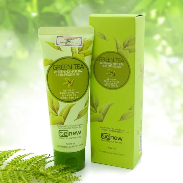 Tẩy tế bào chết trà xanh Benew Green Tea Peeling Gel 120ml giá rẻ