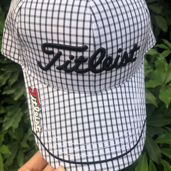 Mũ golf cả đầu titlies kẻ