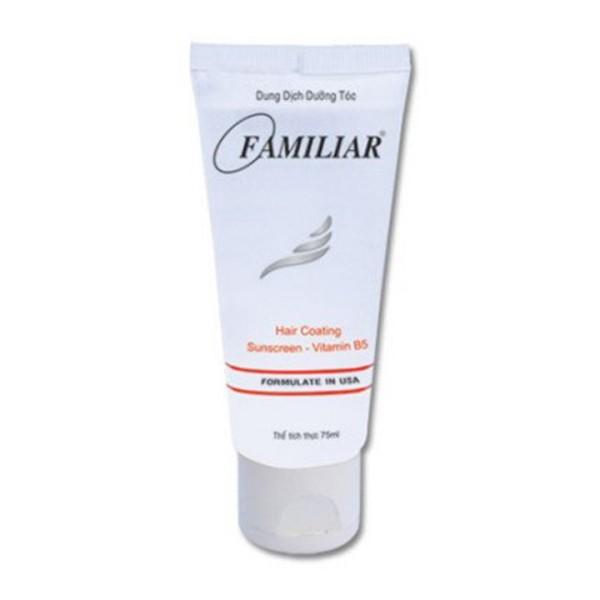 Dung dịch dưỡng tóc Familiar dạng tube 75 ml giá rẻ