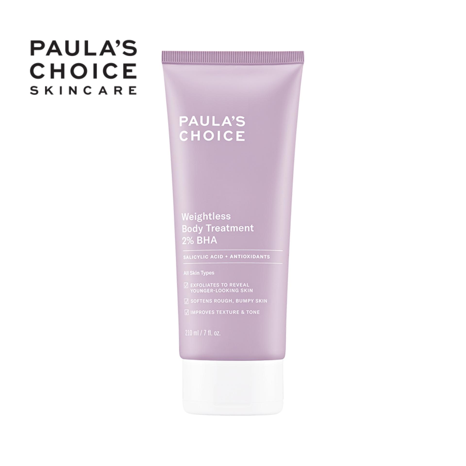 Kem dưỡng thể Paula's Choice RESIST WEIGHTLESS BODY TREATMENT WITH 2% BHA nhập khẩu