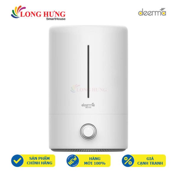 Máy phun sương tạo ẩm Deerma DEM-F628 - Hàng nhập khẩu - Công suất mạnh mẽ, chất liệu nhựa ABS, núm xoay điều khiển nhiệt độ