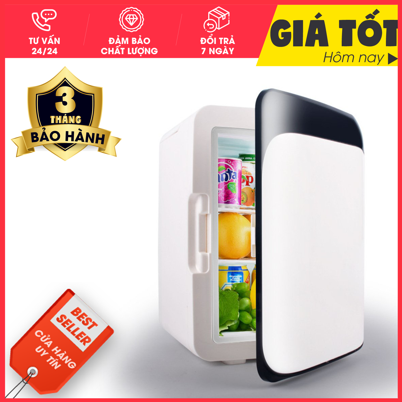 Tủ lạnh mini, 2 chế độ nóng lạnh 10 lít Giá Tốt-TL10L,Tủ lạnh, tủ mát mini dùng cả trong nhà, trên oto, xe hơi (10 Lít, hai chiều nóng lạnh) Cao cấp