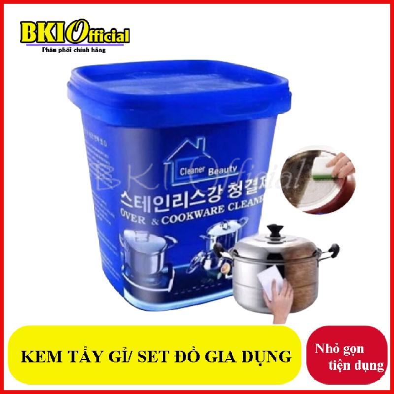 Kem tẩy rửa xoong nồi đa năng Hàn Quốc - Kem tẩy sạch vết bẩn xoong nồi đa năng / Kem cọ rửa đa năng đồ inox đồ sứ Nhà bếp Nhà tắm Hàn Quốc