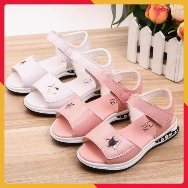 Giá bán Dép sandal phong cách Hàn Quốc bé gái 4-10 tuổi