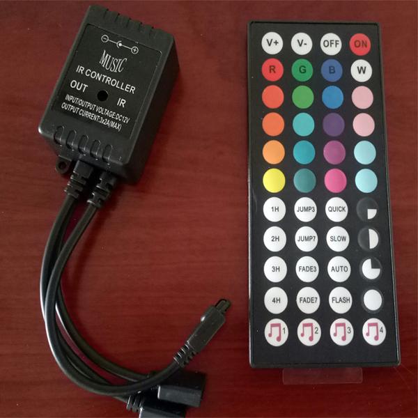 Bảng giá Bộ điều khiển led dây RGB loại to full chức năng màu sắc và âm thanh
