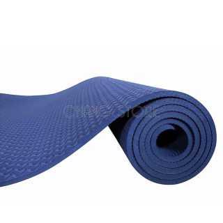 Thảm tập Yoga Gym TPE 2 LỚP Cao Su Non Dày, Êm Chống Trơn Trượt + Tặng Túi Đựng Tiện Dụng 4