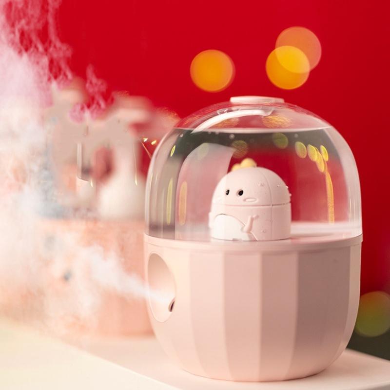 Máy phun sương tạo ẩm Mini để bàn Baseus Model A03 di động hình gấu dễ thương