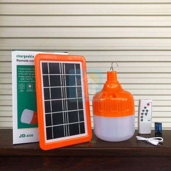 Bảng giá Đèn LED 50W đèn bulb tích điện năng lượng mặt trời 50w JD-X50