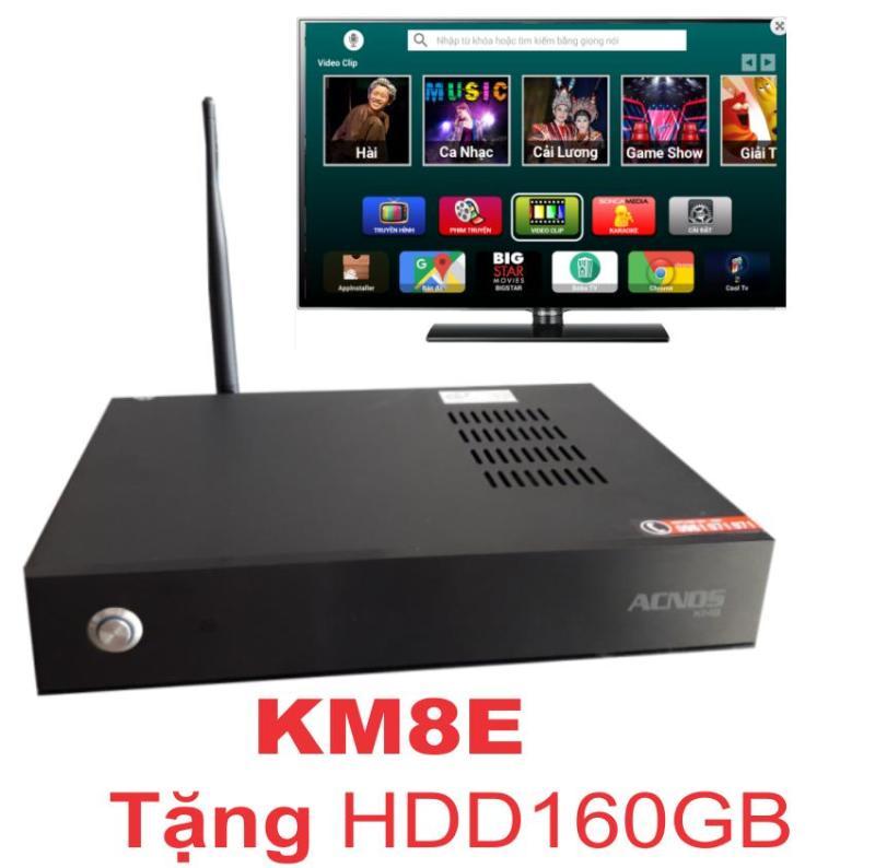 Đầu karaoke wifi Acnos KM8E (Tặng HDD 160GB)