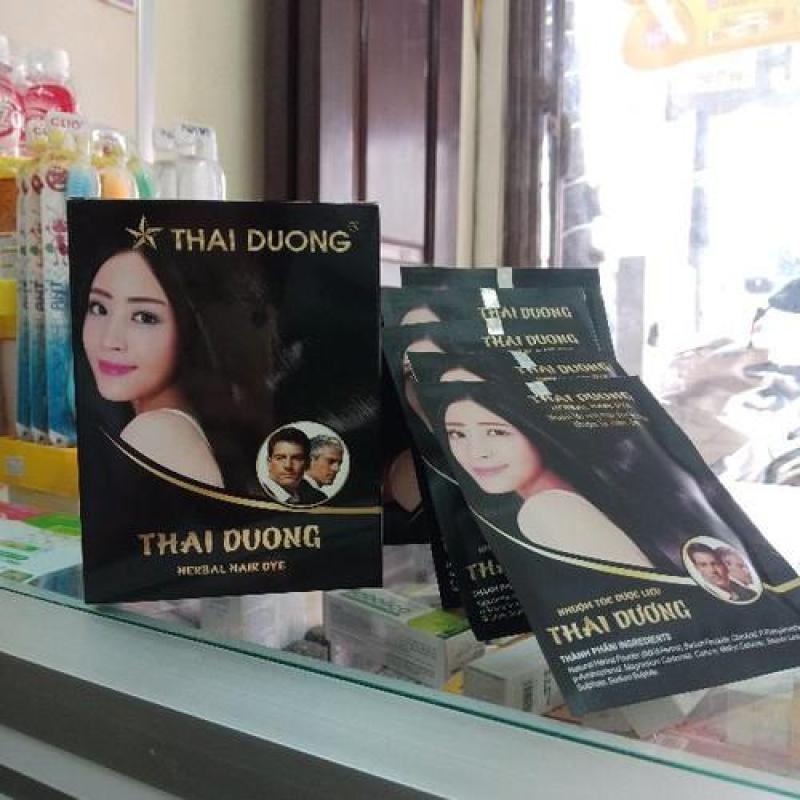Nhuộm tóc dược liệu thái dương hộp 5 gói nhập khẩu