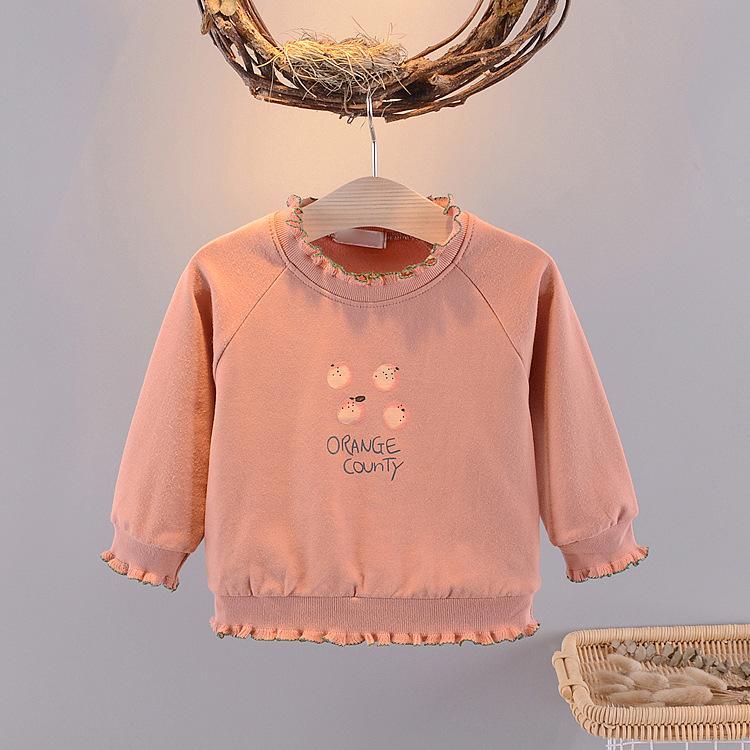 Giá bán áo thu đông bé gái size 8-16kg bèo viền