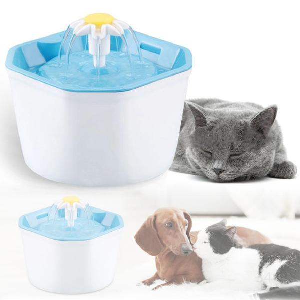 Đài phun nước điện tự động cho 1.6L Chó mèo Uống đài phun nước USB Cổng Pet Bộ lọc nước uống Bộ cấp nước jK3w7sJp