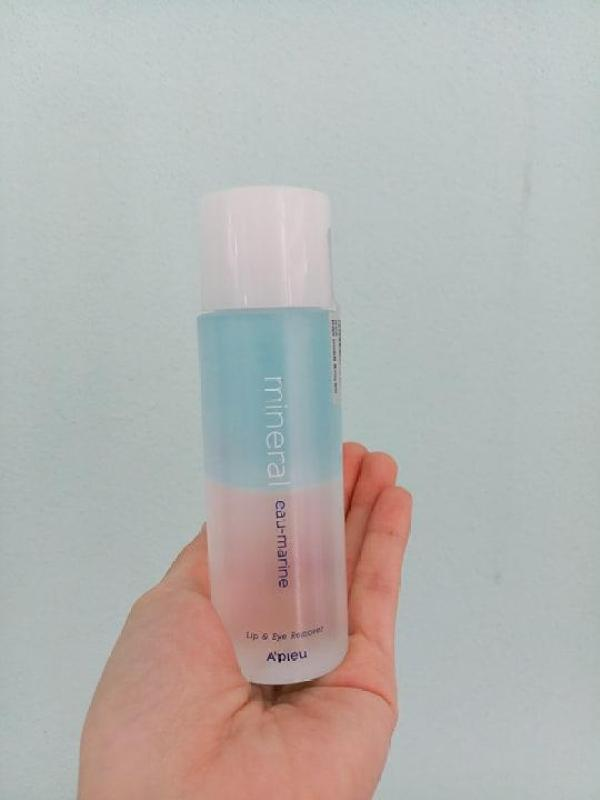 Tẩy Trang Mắt Môi Nước Biển Sâu Mineral Eau-marine Lip & Eye Makeup Remover (100ml) cao cấp