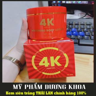 Kem Body 4K Plus ĐỎ Thái Lan - KEM BODY SIÊU TRẮNG DA CHỐNG NẮNG 4K PLUS Đỏ (CHÍNH HÃNG) thumbnail