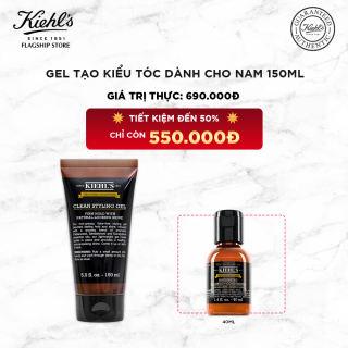 Gel Tạo Kiểu Tóc Grooming Solutions Clean Hold Styling Gel Kiehl's 150ml