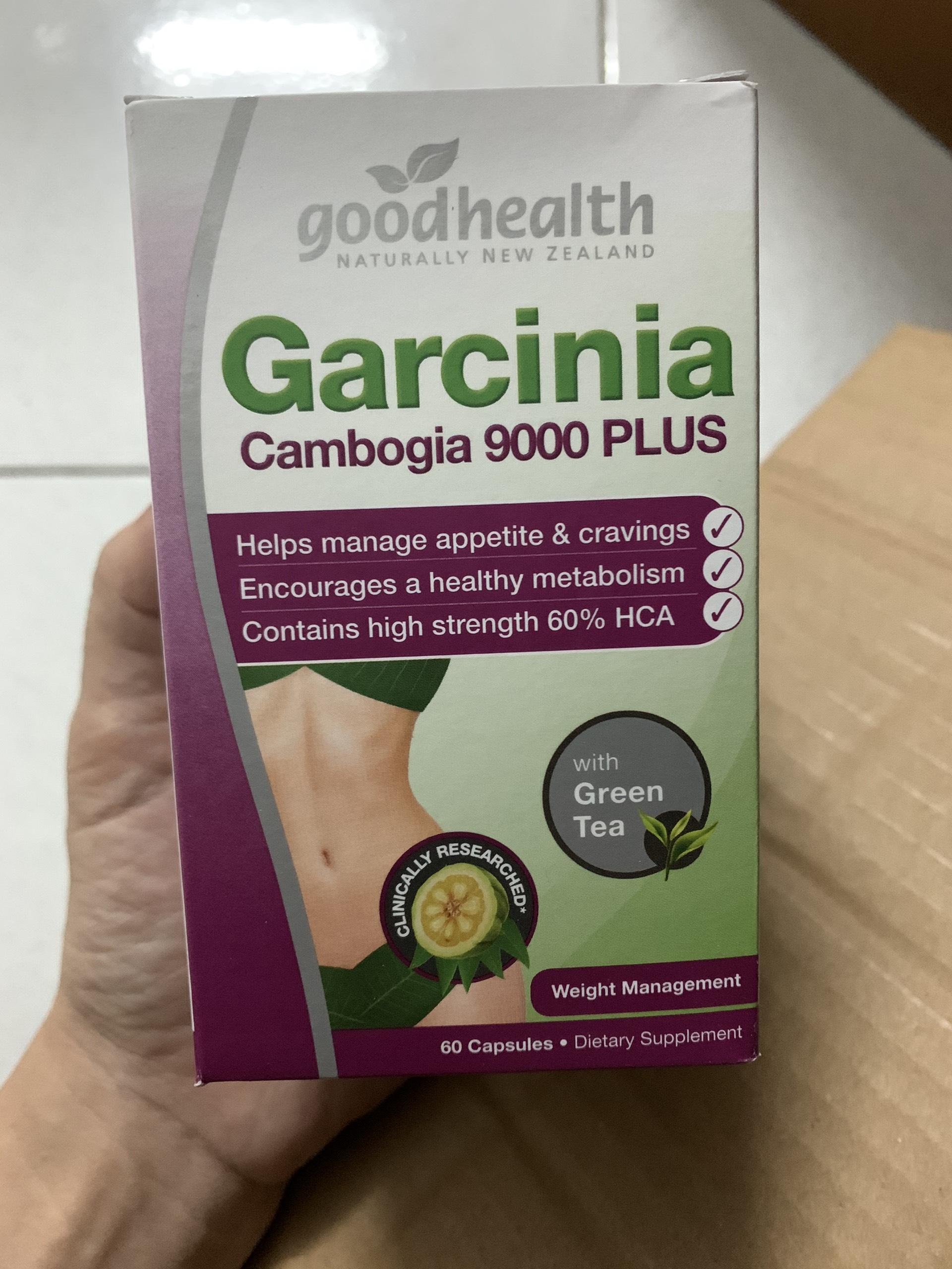 Giảm cân Garcinia Cambogia 9000 Plus (60 viên) cao cấp