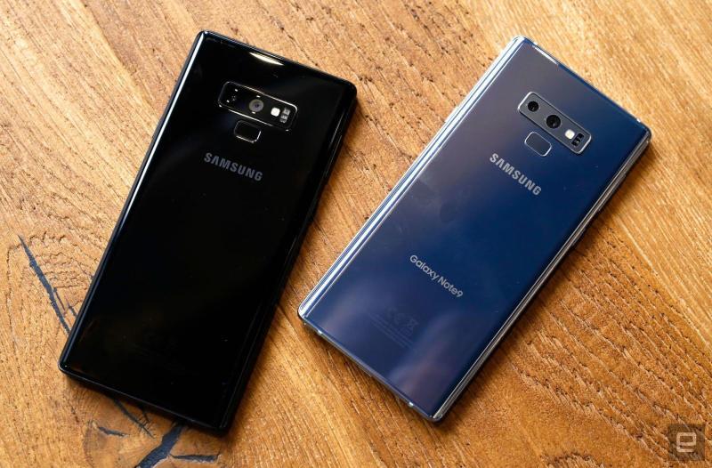 Điện Thoại Samsung Galaxy Note 9 Mỹ Hiệu Năng Mạnh Mẽ-Thời Lượng Pin Khủng.Tặng Sạc Cáp Chính Hãng,Tai Nghe AKG.