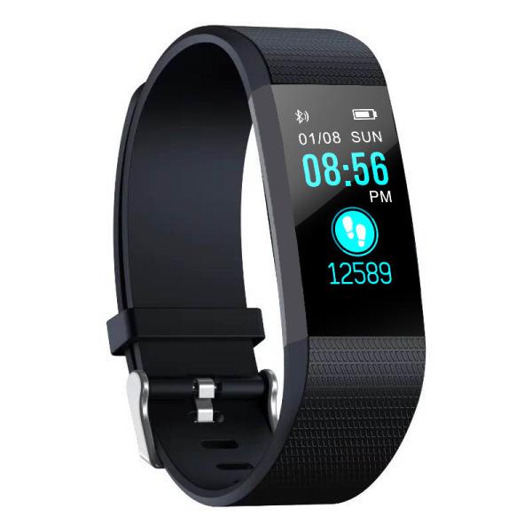Giá Vòng đeo tay thông minh 115 Plus, báo rung khi có tin nhắn đến, theo dỗi sức khỏe, bước đi, khoảng cách, theo dõi thời gian và chất lượng chất ngủ...