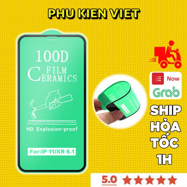 Kính Cường Lực iphone Dẻo Full Màn 100D Dành Cho 6/6s/7/7plus/8/8plus/plus/x/xr/xs/11/12/pro/max