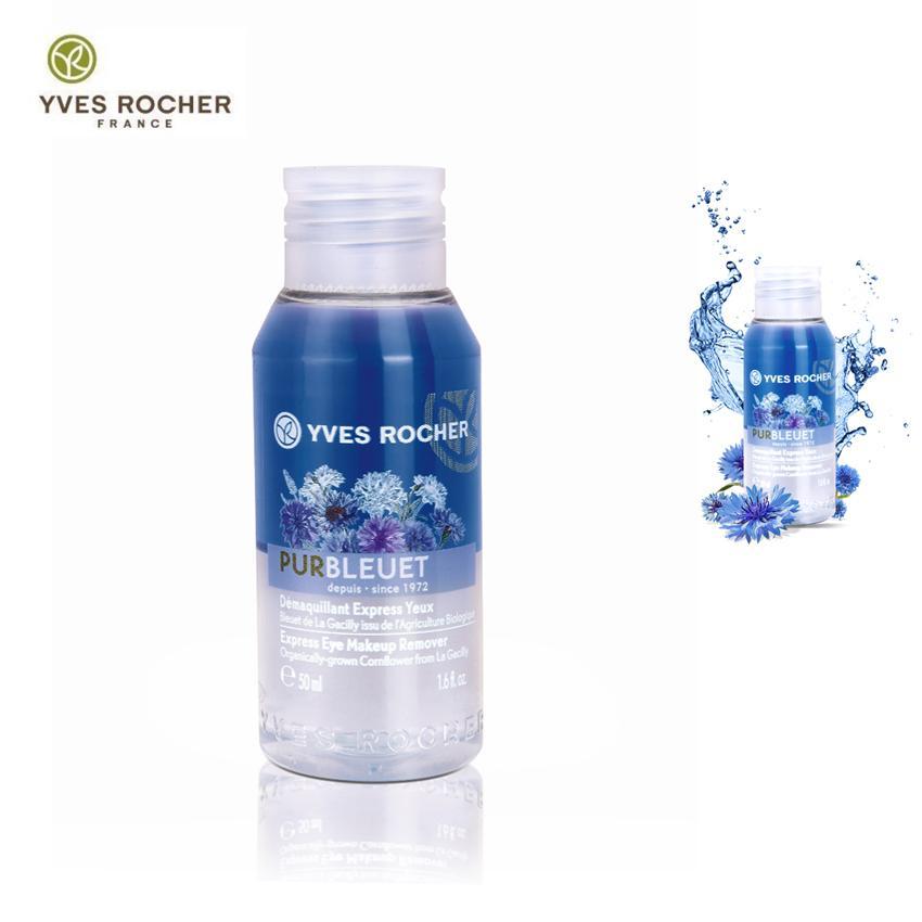[Chính hiệu Yves Pháp] Chai tẩy trang mắt môi Yves Rocher MINI MAKE UP REMOVER 50ML cao cấp