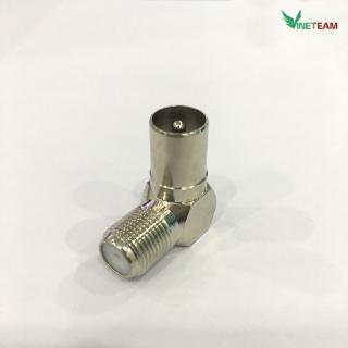 Đầu nối dây cáp bẻ góc 90 độ dành cho anten TV RF chất lượng cao -dc4369 5