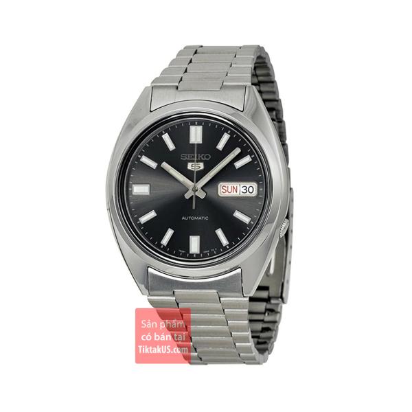 Đồng hồ nam dây thép Seiko 5 Vintage SNXS79K1 - Size mặt 38mm automatic trữ cót 40 tiếng chống nước 50m