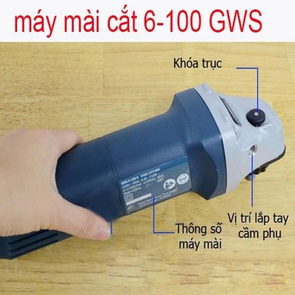 MÁY CẮT, MÀI BOSH GWS 6-100 MALAYSIA
