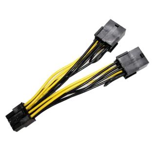Cáp Nguồn 8Pin Sang Dual 8Pin(6 + 2) Cáp Nguồn GPU, Dành Cho Tesla K80 M40 M60 P40 P100 thumbnail