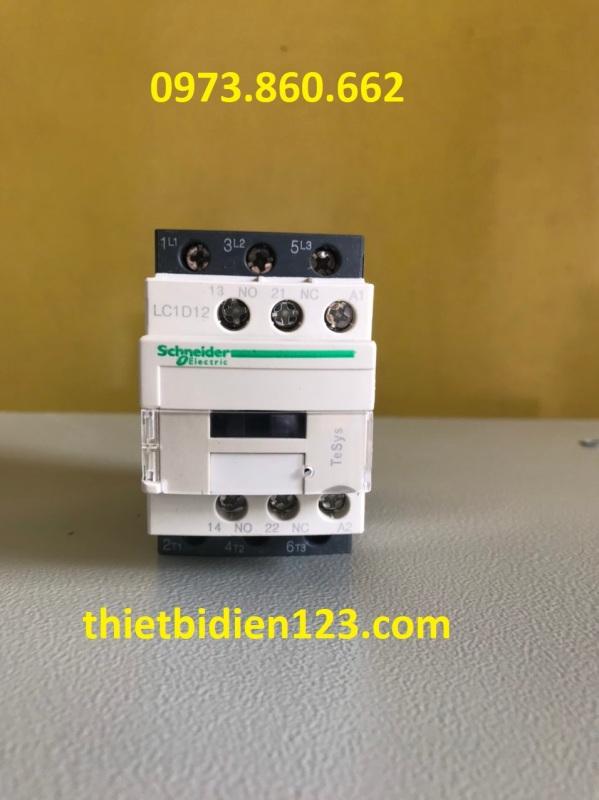 Contactor - khởi động từ Schneider LC1D..F7 cuộn hút 110V