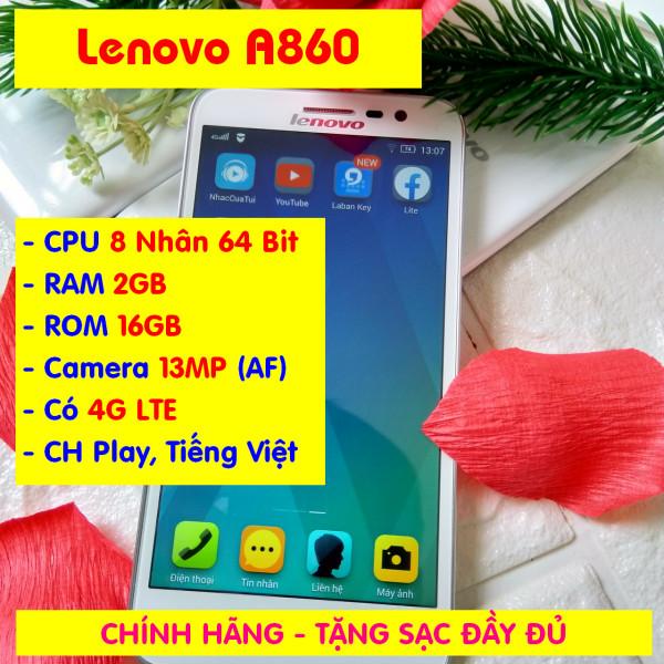 Điện thoại Lenovo A806, RAM 2GB, ROM 16GB, CPU 8 Nhân, 4G LTE