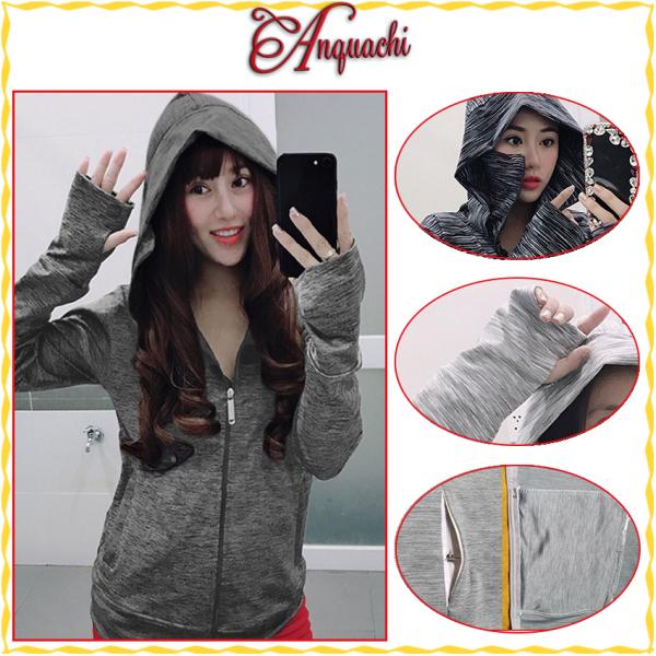 [HÀNG LOẠI 1]Áo chống nắng co dãn dày dặn chất liệu thun mát lạnh, áo khoát chống tia UV tốt (5in1), áo khoát cặp nam nữ